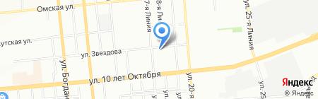 El Rich на карте Омска