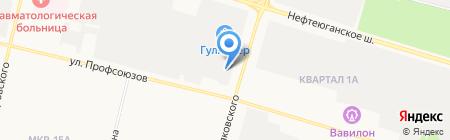 Пироговый дворик на карте Сургута