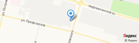 АВТО & ГАЗ на карте Сургута