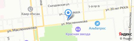 Каприз на карте Омска