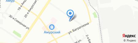 ЭТИС-недвижимость на карте Омска
