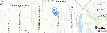 Средняя общеобразовательная школа №122 на карте Омска