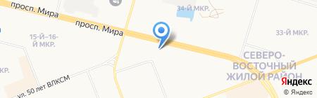 Банк Открытие на карте Сургута