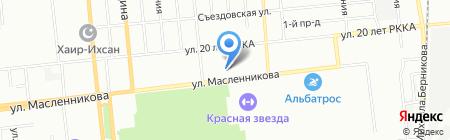 Омский лекарь на карте Омска