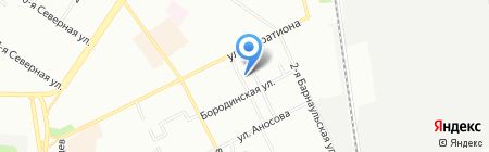 Ника на карте Омска