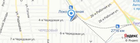Глобус-Плаза на карте Омска