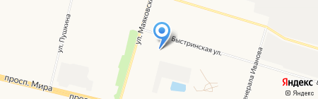 Начальная общеобразовательная школа №40 на карте Сургута