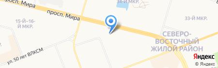 Специализированная кузовная мастерская на карте Сургута