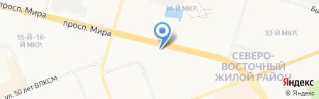 ОЗОН на карте Сургута