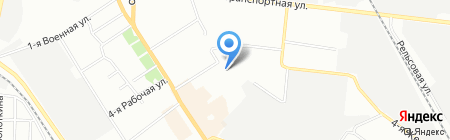 Астрея-Гарант Омск на карте Омска