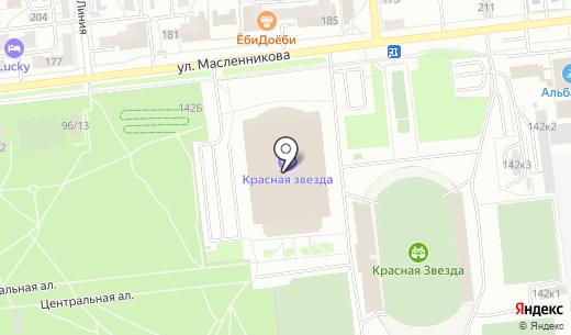 Спорт-меню. Схема проезда в Омске