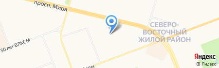 СургутПНИИС на карте Сургута