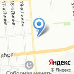 Баракат на карте Омска