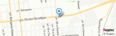 Игрушка на карте Омска