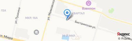 SEASON Tour на карте Сургута