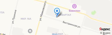 Букетик.ру на карте Сургута