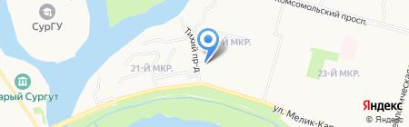 Начальная школа №2 на карте Сургута