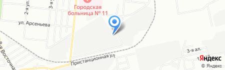 Аякс на карте Омска