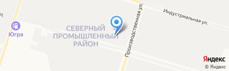 Трактородеталь на карте Сургута