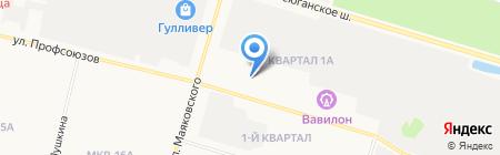 ВМ Сургут на карте Сургута