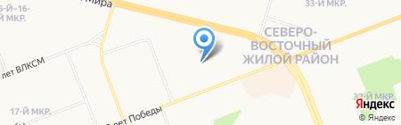 В центре событий на карте Сургута