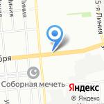 Пекарушка на карте Омска