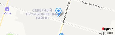 Relax на карте Сургута