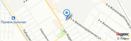 Омскпрофильторг на карте Омска