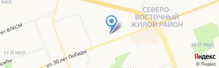 ИНСИ на карте Сургута