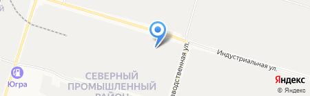 Сибпромэксперт на карте Сургута