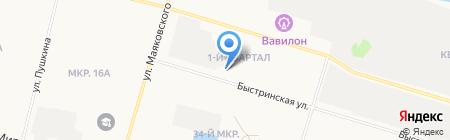 ТрансСпецРесурс на карте Сургута