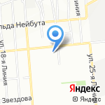 Магазин косметики и парфюмерии на карте Омска
