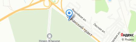 ГАББРО-гранит на карте Омска