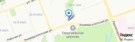 СТХ инжиниринг на карте Сургута