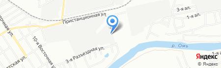 СтройАрхДи на карте Омска