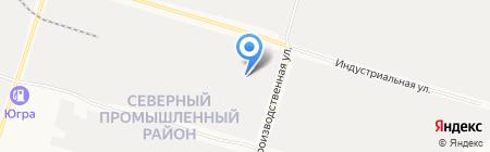 Люкс-Авто на карте Сургута