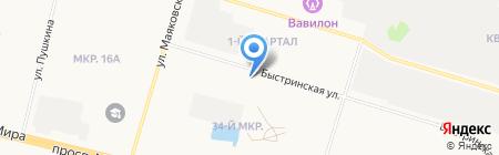 Сургут экспресс на карте Сургута