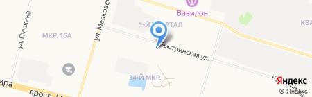 Студия дизайна интерьеров на карте Сургута