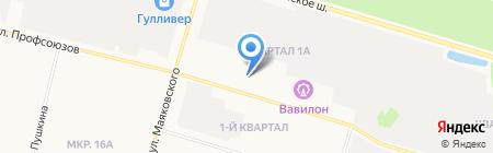 Премиум Гранит на карте Сургута