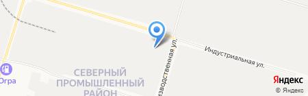 Авто-рем услуги на карте Сургута