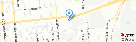 АвтоМодерн на карте Омска