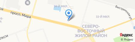 ВЕНЕЦИЯ на карте Сургута