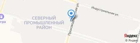 Энергостром на карте Сургута