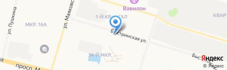 АвтоДруг на карте Сургута