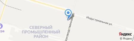 Сургутский завод профилированных изделий на карте Сургута