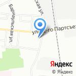 Магазин косметики и бытовой химии на карте Омска