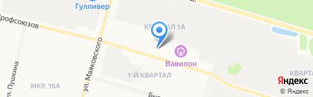 ПРАЗДНИКРУ.РФ на карте Сургута