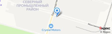 Нордкабель на карте Сургута