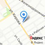 АвтоЭксперт на карте Омска