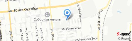 Русский Фейерверк на карте Омска